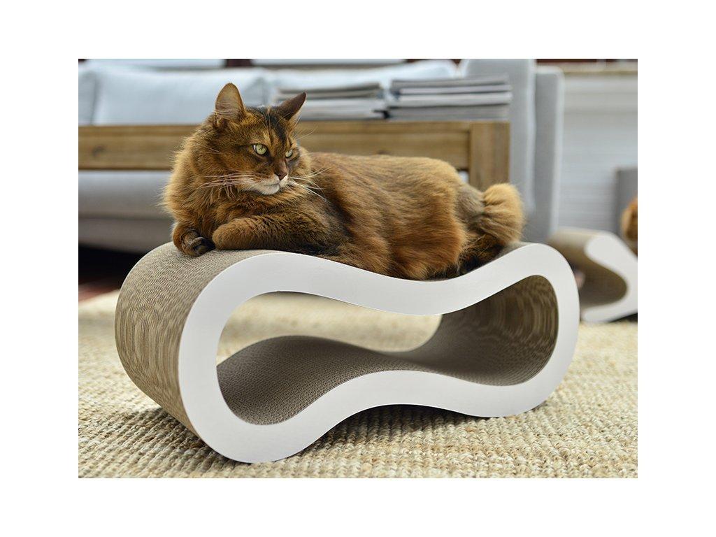 Luxusní škrabadlo pro kočky Singha L design