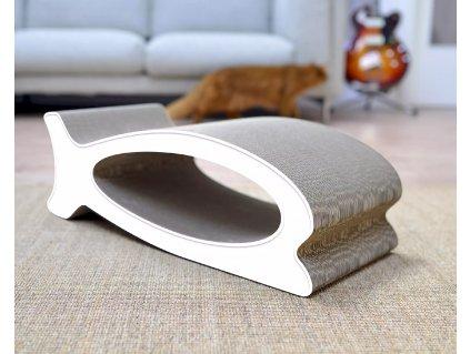 Luxusní škrabadlo pro kočky Le Fish