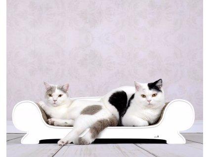 Luxusní škrabadlo pro kočky Vertige