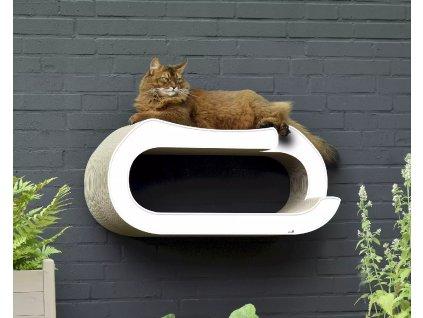 Luxusní škrabadlo pro kočky La Maitresse Wall-Kit
